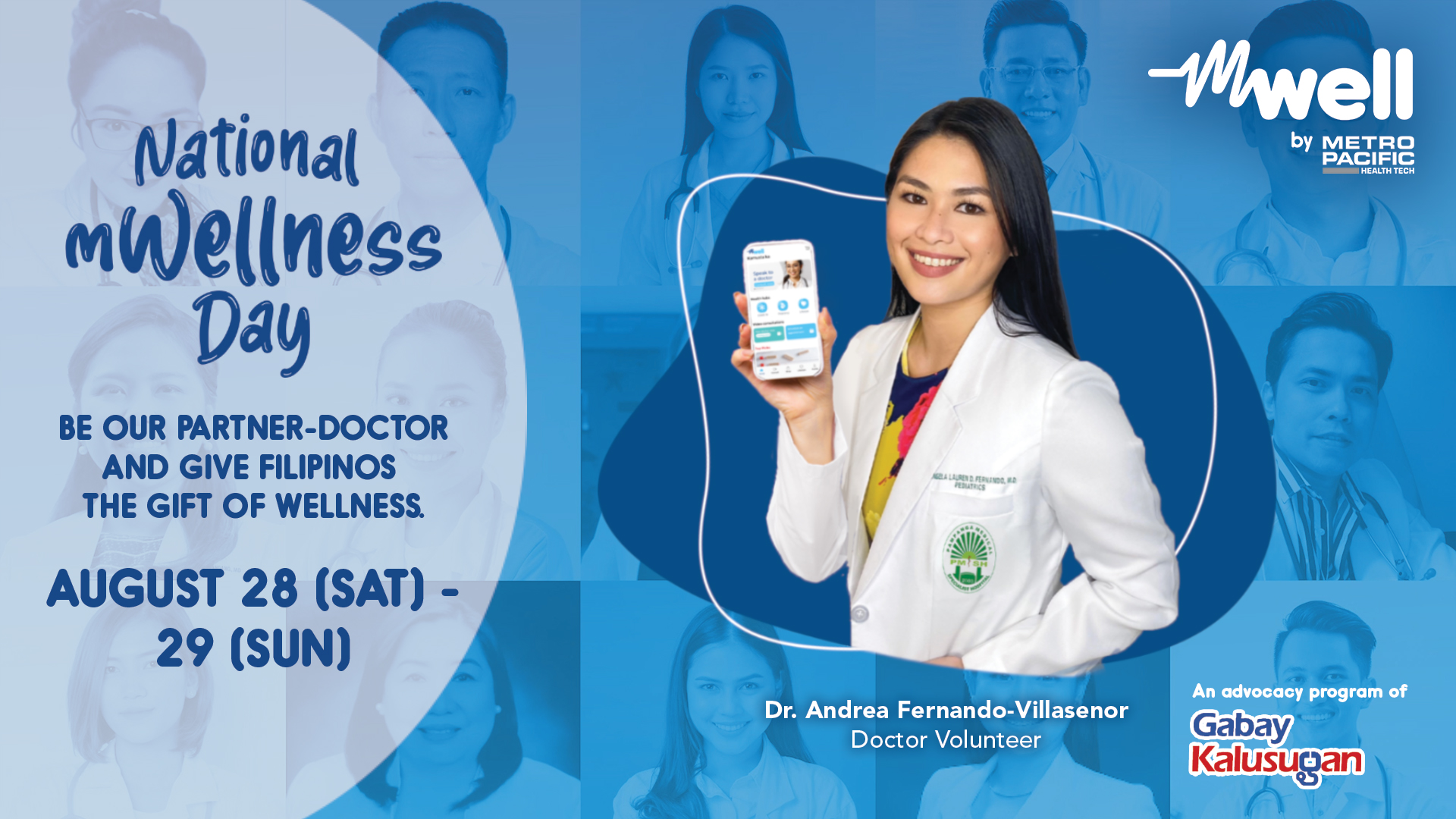 mWell, PH's First Fully-Integrated Health & Wellness App Rolls Out the first Nationwide Virtual Medical Mission