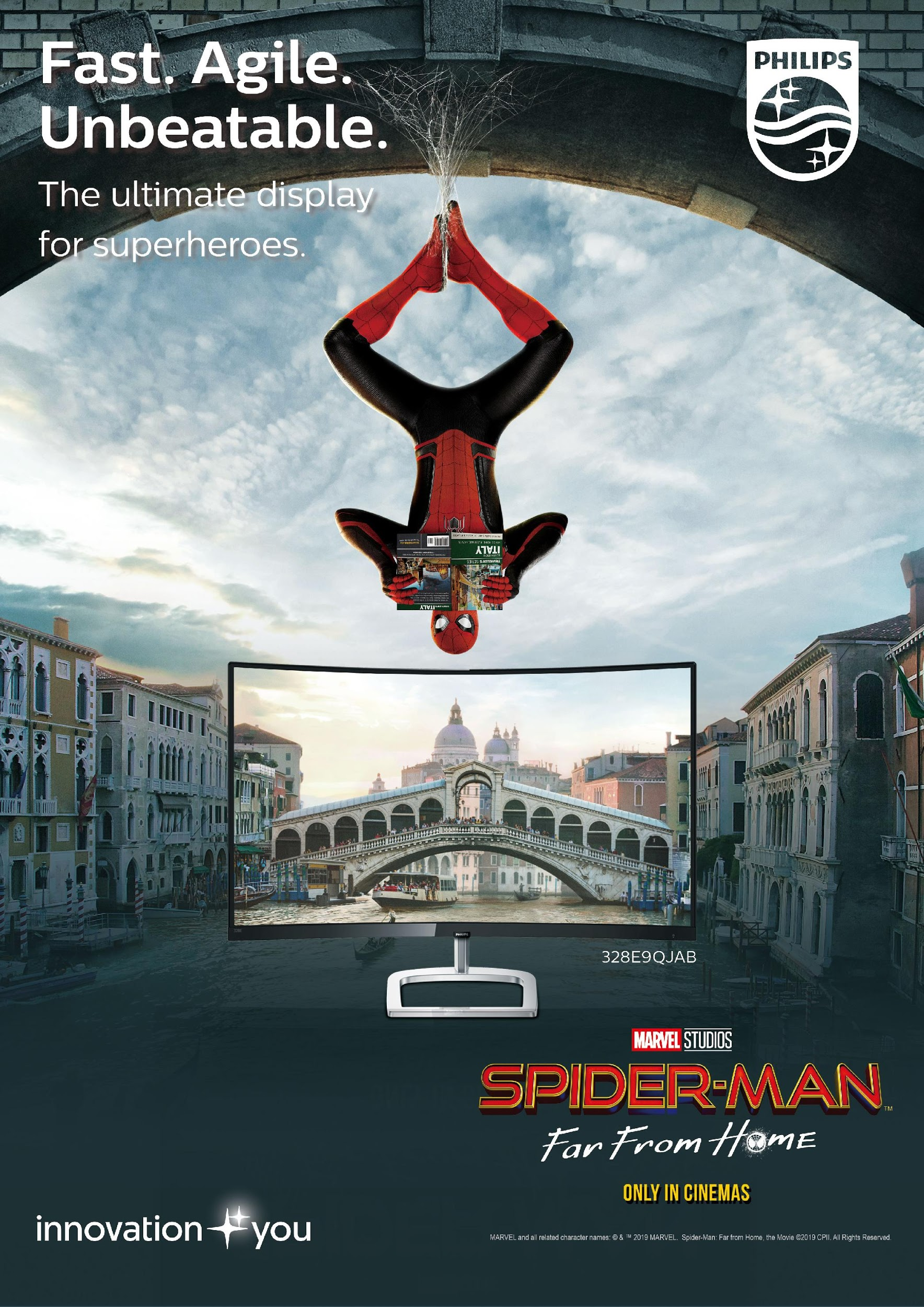 Philips Monitors X Spider Man: Far From Home 5