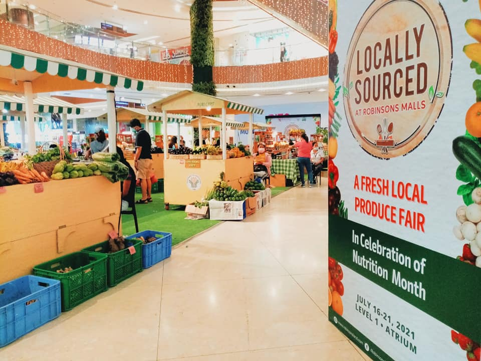 Celebrating Nutrition Month with Locally Sourced at  Robinsons Galleria Cebu